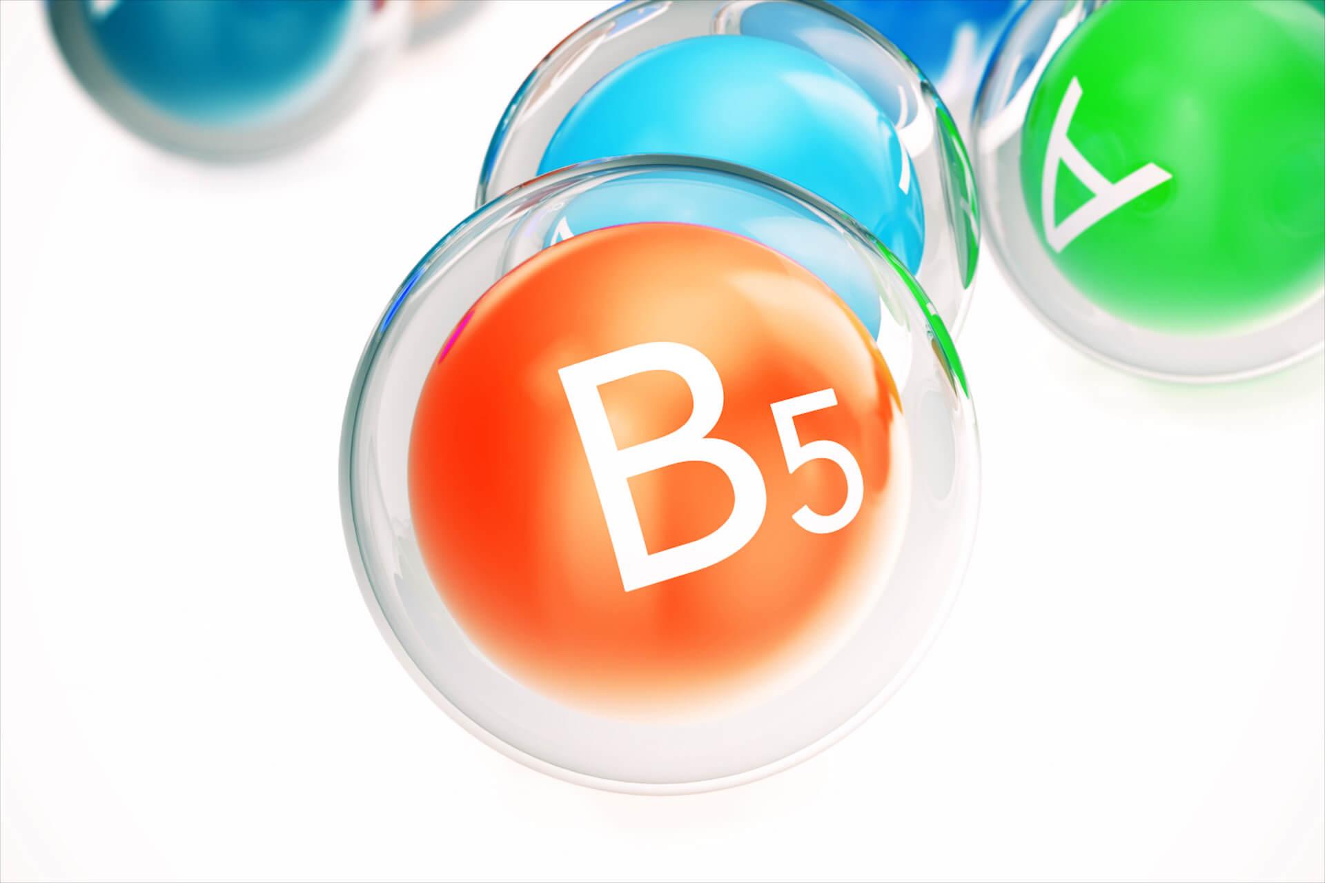 A panthenol a bőrben b5 vitaminná alakul