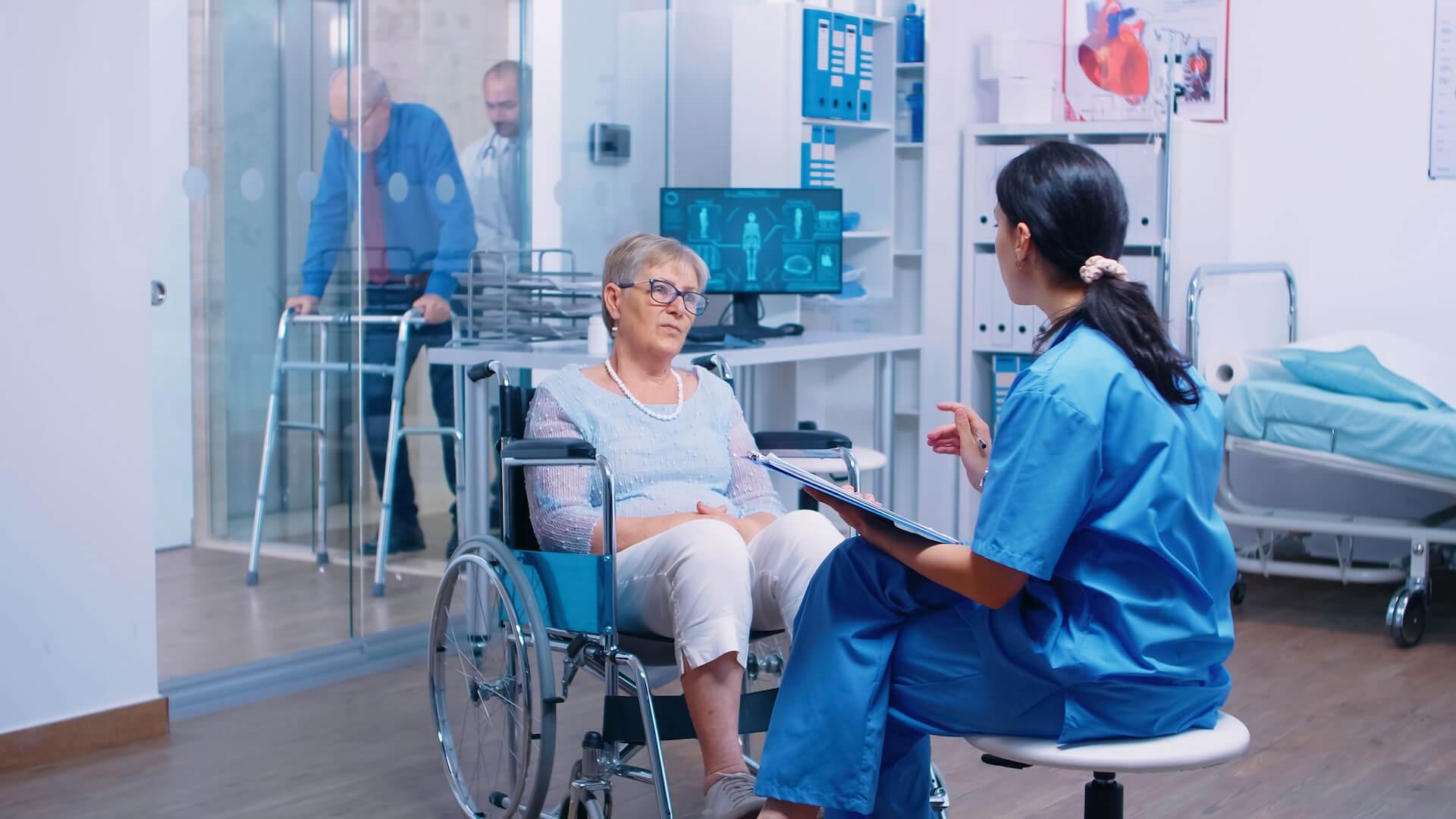 Az agyi infarktus rehabilitációjában a fizikai képességek visszaszerzésén van a hangsúly.